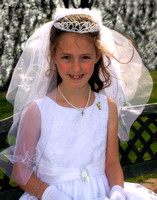 Addison's First Holy Communion, April 27, 2014